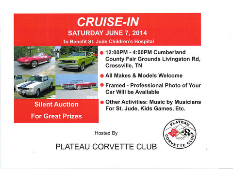 Plateau Corvette Club First Cruise-In