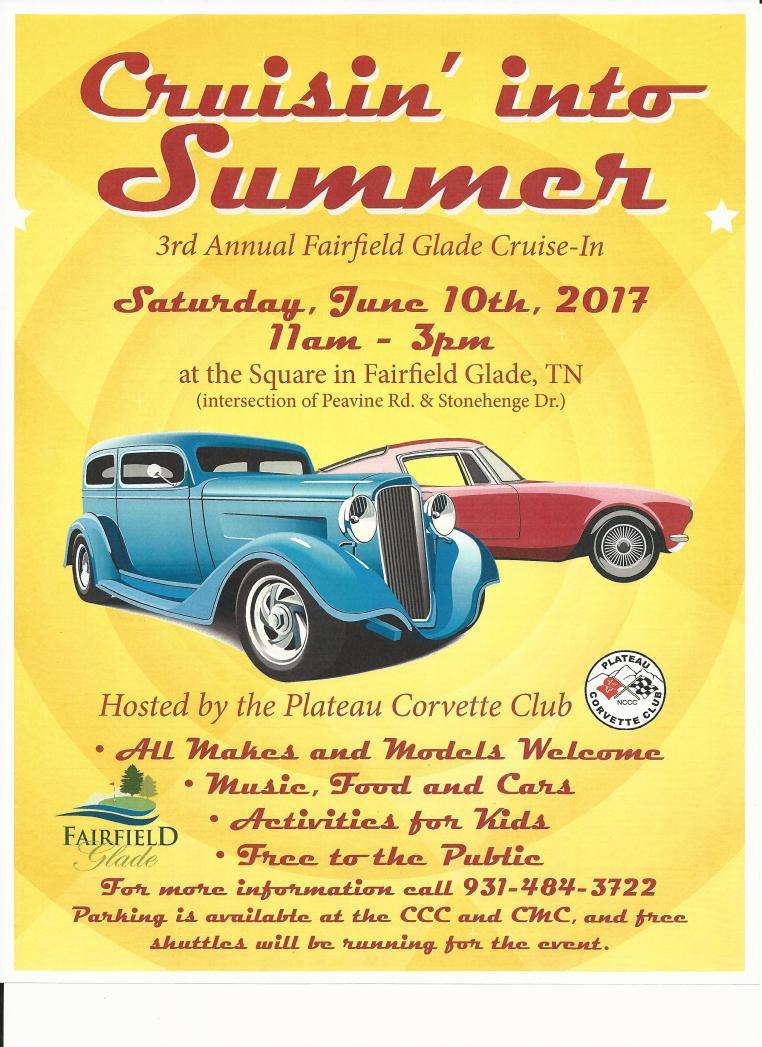 Car Show flyer 2017